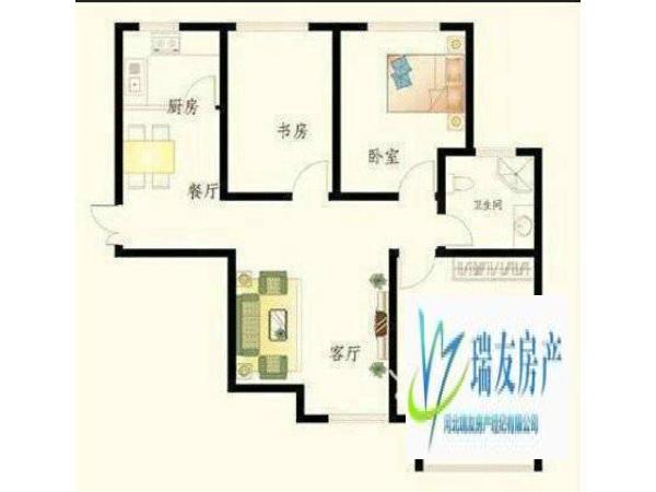 石家庄 114.65m² 南北 锦城小区 3房 毛坯 88.0, 0.0万元 ,真诚急售,升值潜力无限!