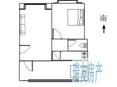 东北二环康馨雅苑 精装两室 带家具家电 全款32万