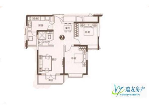 后现代主义年轻人的选择!经典135万元 2房 96m² 精装 石家庄 恒大御景半岛 南 低价出售!!!