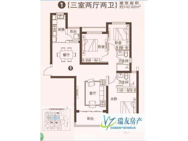 又好又便宜的房子哪里找?7万元 石家庄 3房 138m² 南 精装 恒大御景半岛