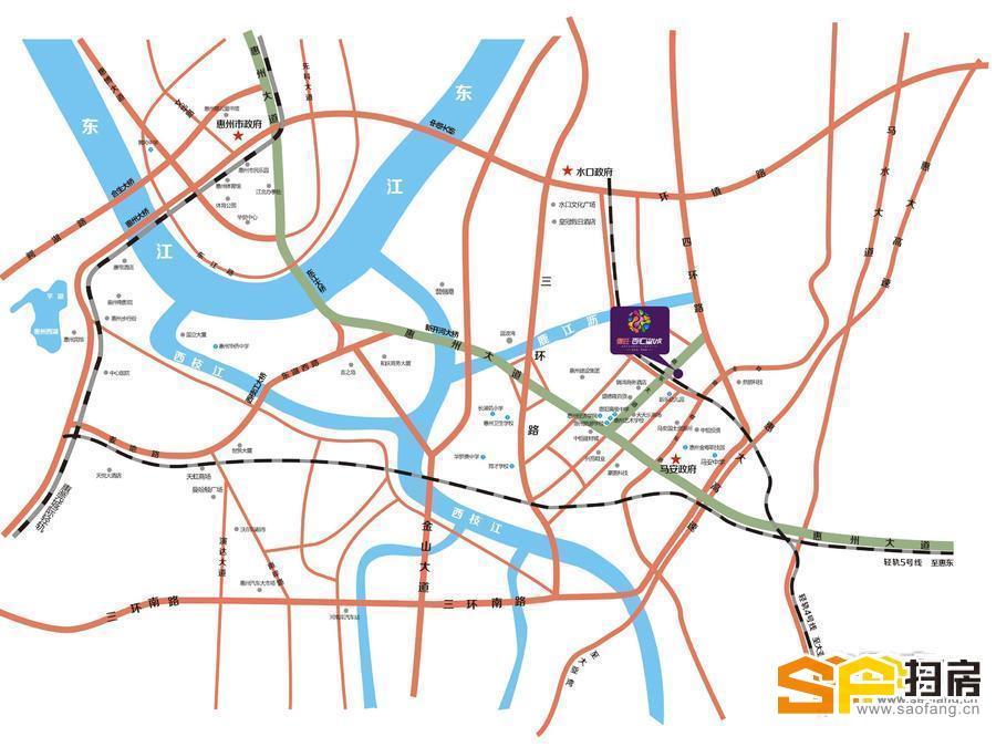 鹤壁市百汇广场地图